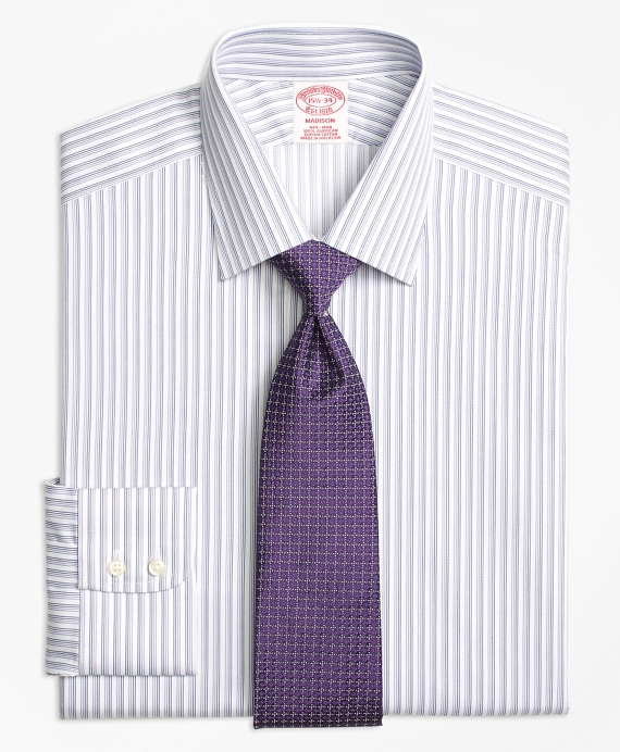 Non-Iron Madison Twin Stripe Dress Shirt