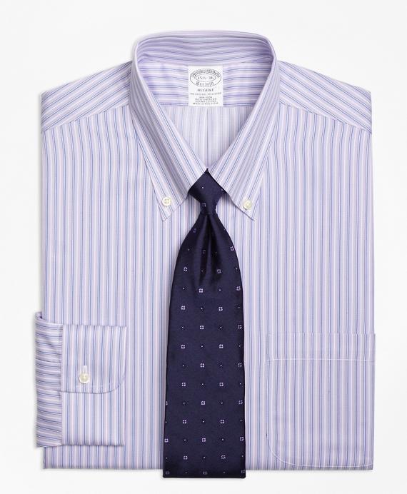 Non-Iron Regent Fit Triple Stripe Dress Shirt