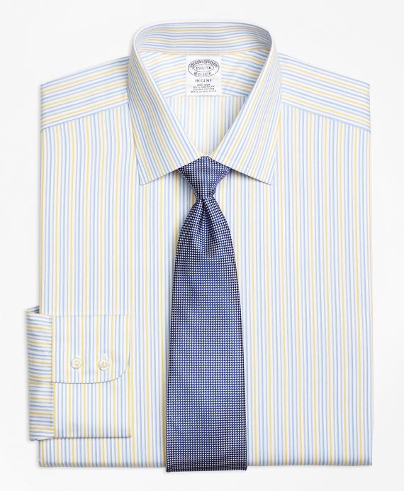 Regent Fitted Dress Shirt, Non-Iron Sidewheeler Stripe