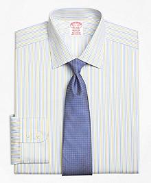 Non-Iron Madison Fit Sidewheeler Stripe Dress Shirt