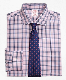 Non-Iron Madison Fit BB#10 Glen Plaid Dress Shirt