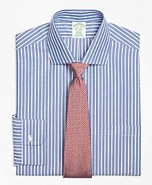 Non-Iron Milano Fit Ground Stripe Dress Shirt
