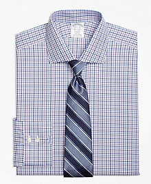 Non-Iron Regent Fit Multi Check Dress Shirt