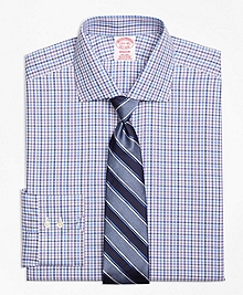 Non-Iron Madison Fit Multi Check Dress Shirt