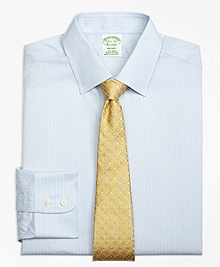 Non-Iron Milano Fit Hairline Stripe Dress Shirt