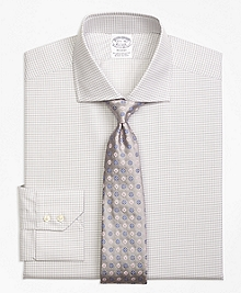 Regent Fit Sidewheeler Check Dress Shirt