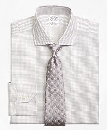 Regent Fit Sidewheeler Check Dress Shirt