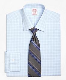 Non-Iron Madison Fit Tonal Glen Plaid Dress Shirt