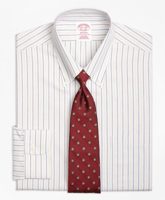 Madison Classic-Fit Dress Shirt, Non-Iron Triple Twin Stripe