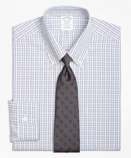 Non-Iron Regent Fit Triple Tattersall Dress Shirt