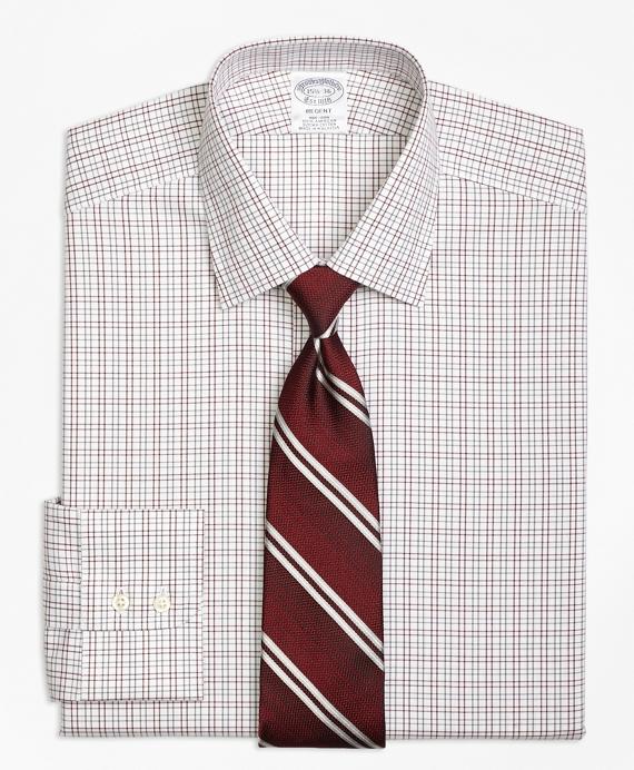 Non-Iron Regent Fit Twin Check Dress Shirt