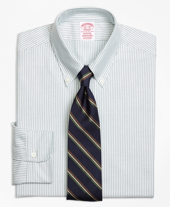 Madison Fit Original Polo® Button-Down Oxford Stripe Dress Shirt