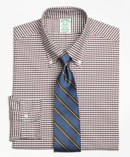 Milano Fit Original Polo® Button-Down Oxford Gingham Dress Shirt