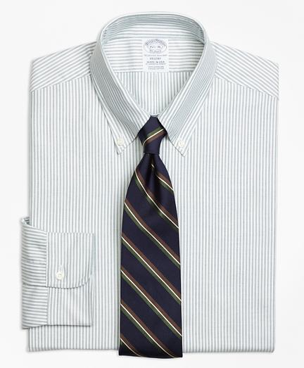 Regent Fit Original Polo® Button-Down Oxford Stripe Dress Shirt