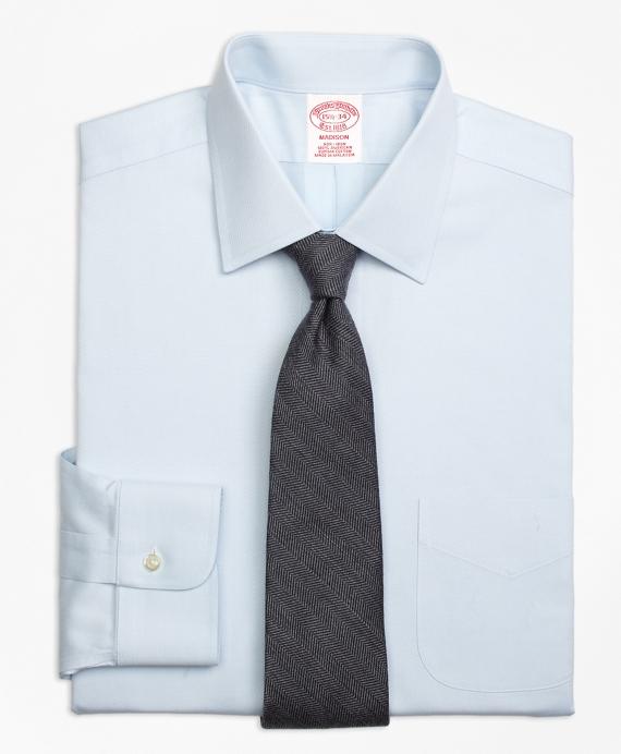 Non-Iron Madison Fit Diamond Dobby Dress Shirt