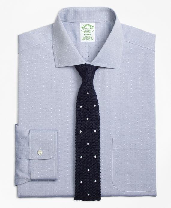 Non-Iron Milano Fit English Collar Dobby Dress Shirt