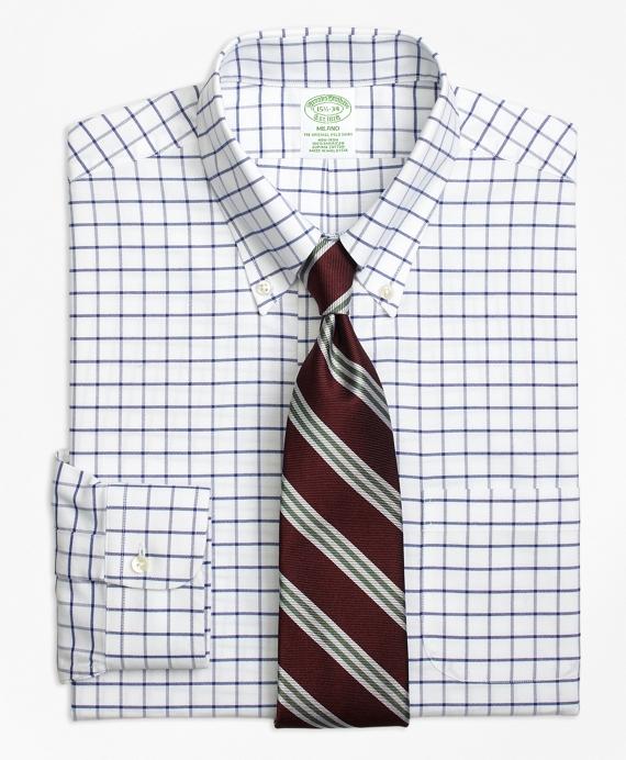 Non-Iron Milano Fit Tattersall Dress Shirt