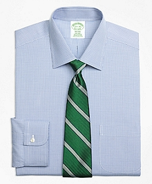 Non-Iron Milano Fit Two-Tone Houndstooth Dress Shirt
