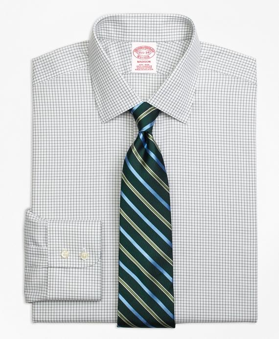 Madison Classic-Fit Dress Shirt, Non-Iron Small Windowpane