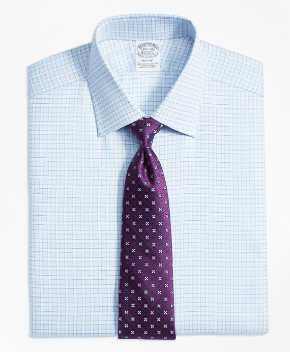 Regent Fitted Dress Shirt, Frame Check