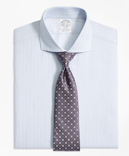 Regent Fitted Dress Shirt, Stripe