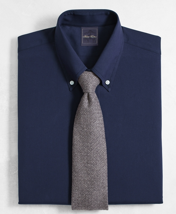 Golden Fleece® Regent Fit Button-Down-Collar Navy Dress Shirt