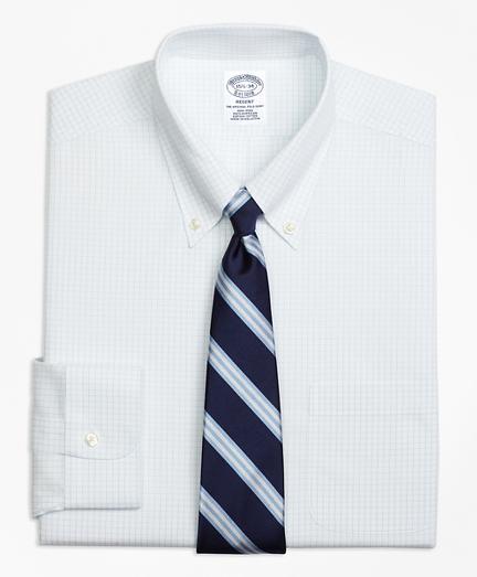 Regent Fitted Dress Shirt, Non-Iron Graph Check