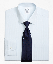 Non-Iron Regent Fit Mini Pinstripe Dress Shirt