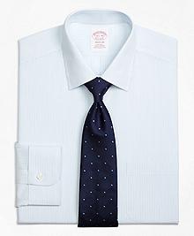 Non-Iron Madison Fit Mini Pinstripe Dress Shirt
