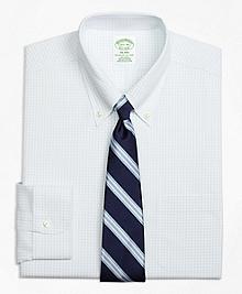 Non-Iron Milano Fit Graph Check Dress Shirt