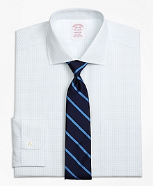 Non-Iron Madison Fit Graph Check Dress Shirt