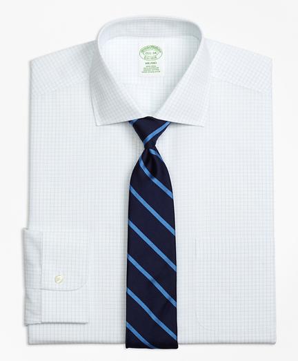 Milano Slim-Fit Dress Shirt, Non-Iron Graph Check