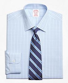 Non-Iron Madison Fit Overcheck Dress Shirt