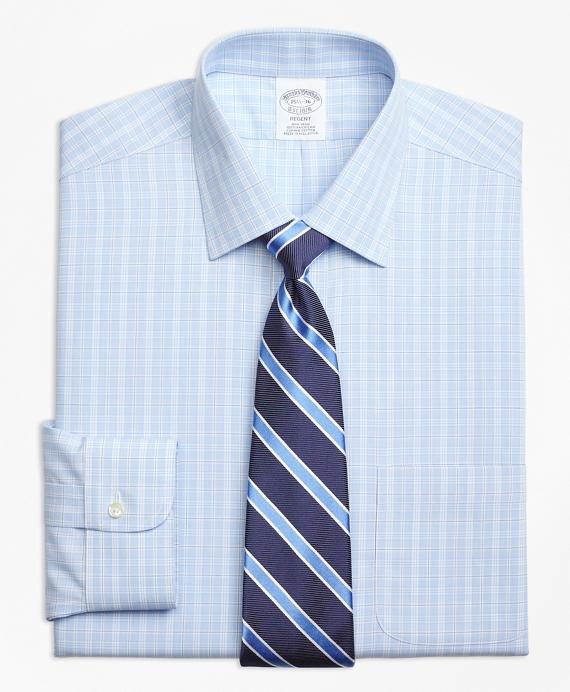 Regent Fitted Dress Shirt, Non-Iron Overcheck