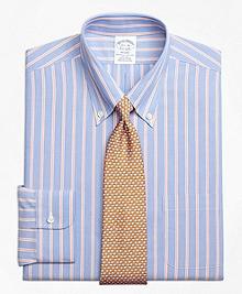 Non-Iron Regent Fit Hairline Twin Stripe Dress Shirt