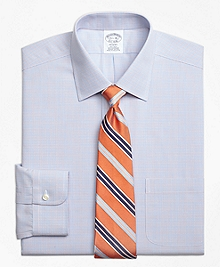 Non-Iron Regent Fit Twin Check Dress Shirt