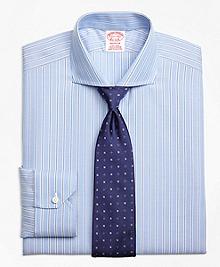 Non-Iron Madison Fit Royal Oxford Twin Stripe Dress Shirt