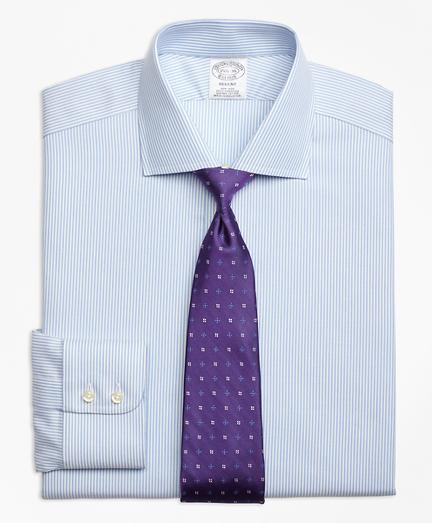 Non-Iron Regent Fit Royal Oxford Candy Stripe Dress Shirt