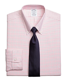 Regent Fit Original Polo® Button-Down Small Windowpane Dress Shirt