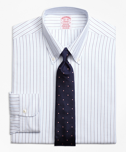 Original Polo® Button-Down Oxford Madison Classic-Fit Dress Shirt, Alternating Bengal Stripe