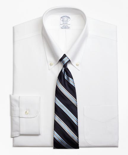 Non-Iron Regent Fit Button-Down Collar Stretch Dress Shirt