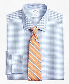 Non-Iron Regent Fit Tonal Sidewheeler Check Dress Shirt