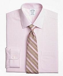 Non-Iron Regent Fit Tonal Sidewheeler Check Dress Shirt