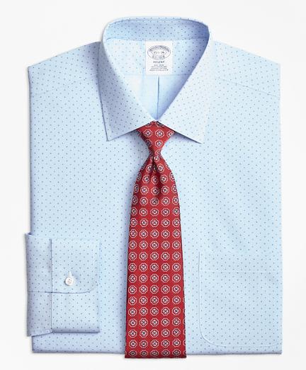 Non-Iron Regent Fit Hairline Pine Dress Shirt