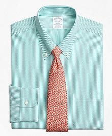 Non-Iron Regent Fit Dobby Candy Stripe Dress Shirt