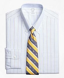 Non-Iron Regent Fit BrooksCool® Candy Stripe Dress Shirt