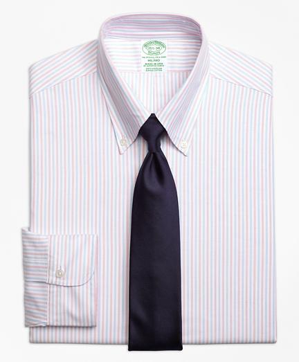 Milano Fit Original Polo® Button-Down Alternating Bengal Stripe Dress Shirt