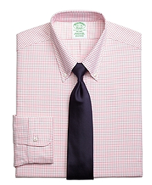 Milano Fit Original Polo® Button-Down Small Windowpane Dress Shirt