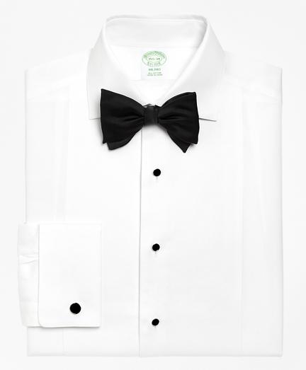 Milano Fit Bib-Front Spread Collar Tuxedo Shirt