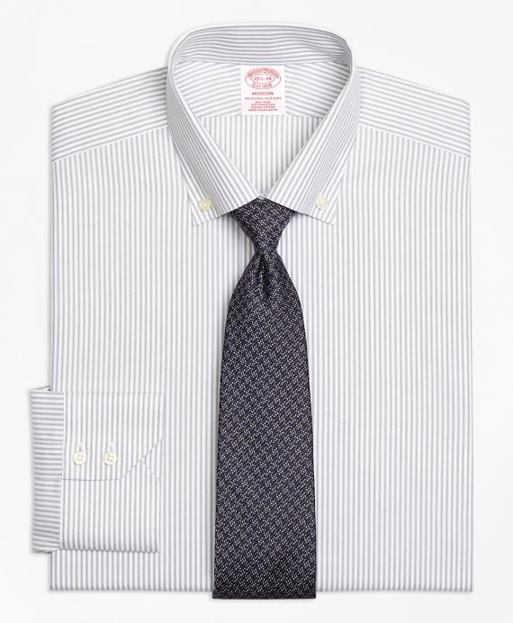 Non-Iron Madison Fit Narrow Split Stripe Dress Shirt